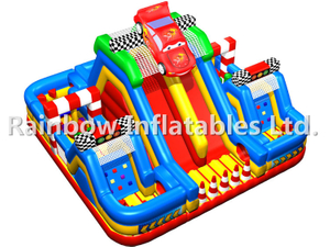 RB05072(7.5x7.5x5m) Inflatable Multi - functional vehicle Obstacle Course for sales