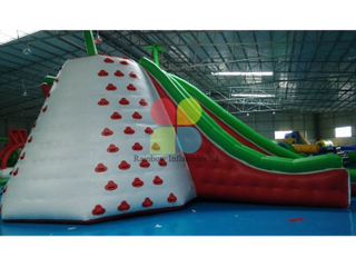Customized inflatable water slide games for sale combo RB32061