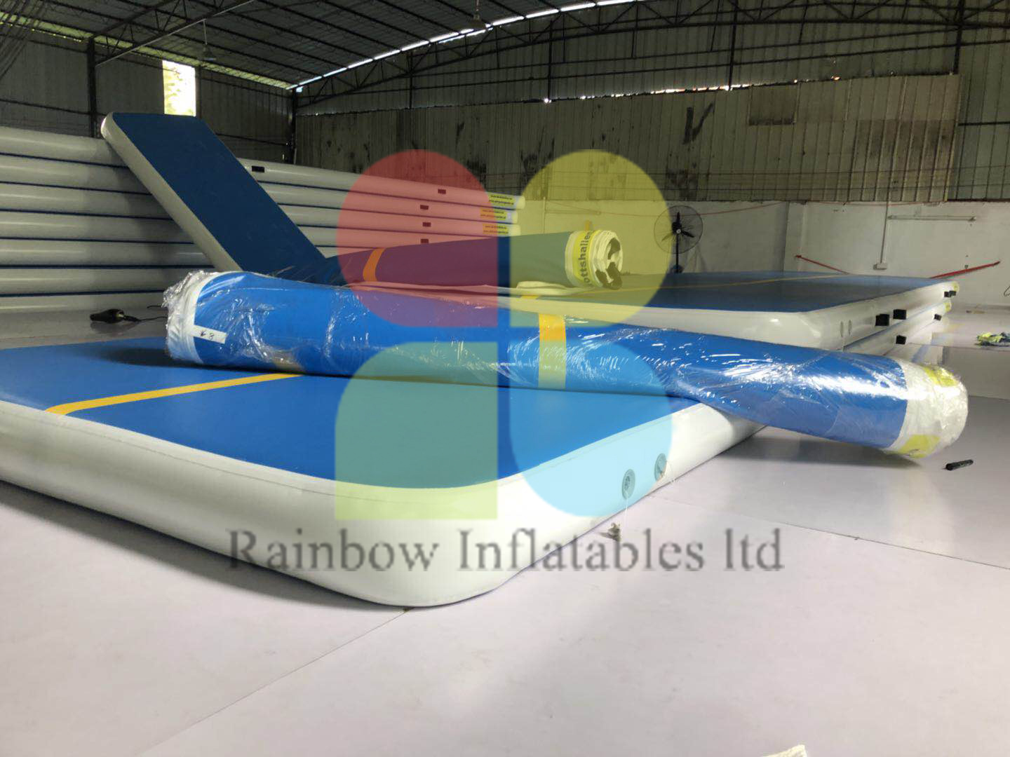 Gymnastics Inflatable Tumble Inflatable Air Track Gym Mat