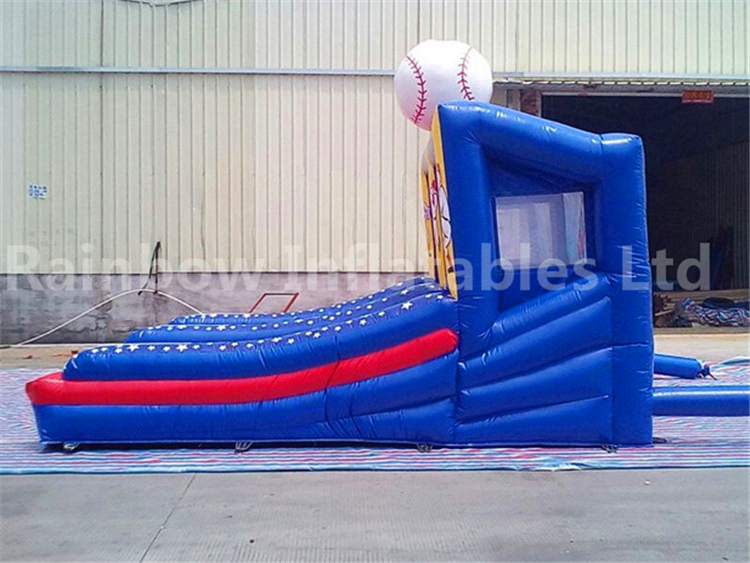 RB9092(4.57x3.35x2.75m) Inflatable Baseball Court/Inflatable Baseball Bat For Sale