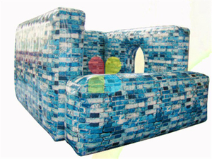 RB50006(3x3x2.4m) Inflatable Paintball Bunker,Air Bunker ,Inflatable Bunker Fortress