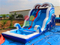 RB7021(3.5x8x5m) Inflatable under Ocean World Water Slide With Pool For sale