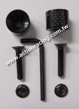 Carbon Fiber License Plate Screws AR-LPS014