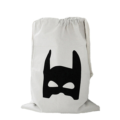 Useful Baby Toys Pouch Canvas Storage Bags Cute Bear Batman Laundry Bag