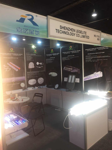 Legelite Technology Attend LightShow West 2018