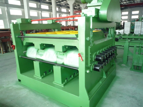 1-10mm Automatic high speed metal sheet cut to length line machine