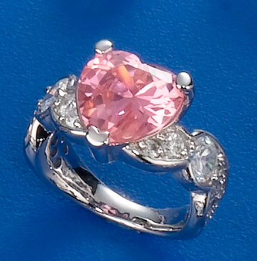 CZ Heart Shape Ring
