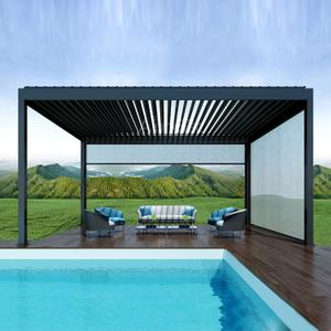 Alunotec Aluminum Patio Louver Roof Pergulas Buy Patio