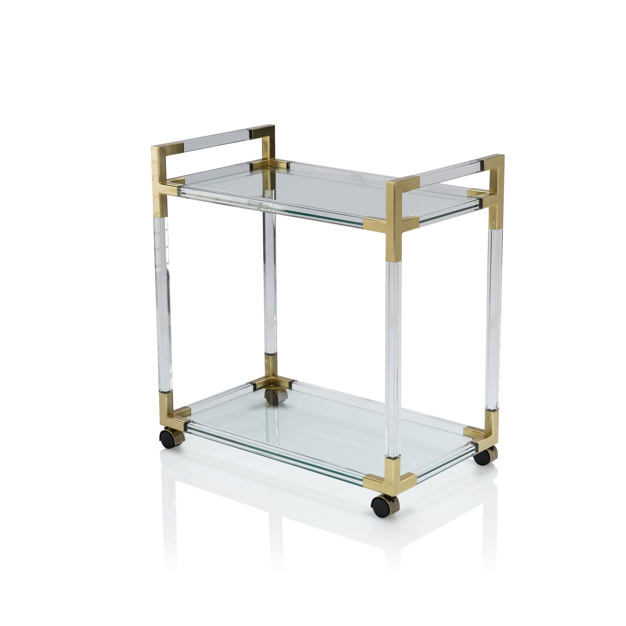 cheap acrylic furniture. 2 Tiers Commercial Cheap Dessert Trolleys Clear Acrylic Lucite Bar Cart Furniture R