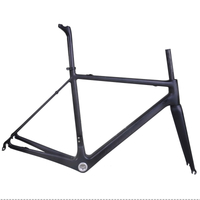 Suppler light Toray T800 carbon road bike frameset only 850 gram Di2 bike frame
