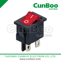 KCD1-201N rocker switch with LED light