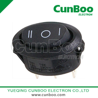 KCD2-105C on-off-on oval switch