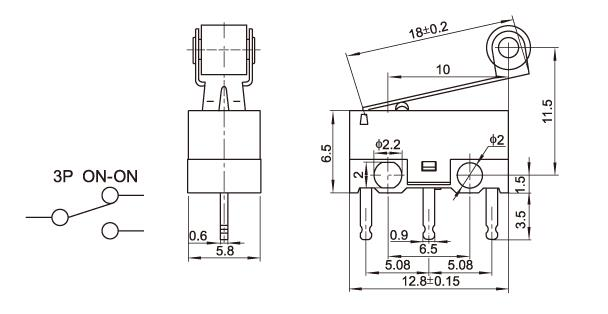 Snap Action Micro Limit Switch