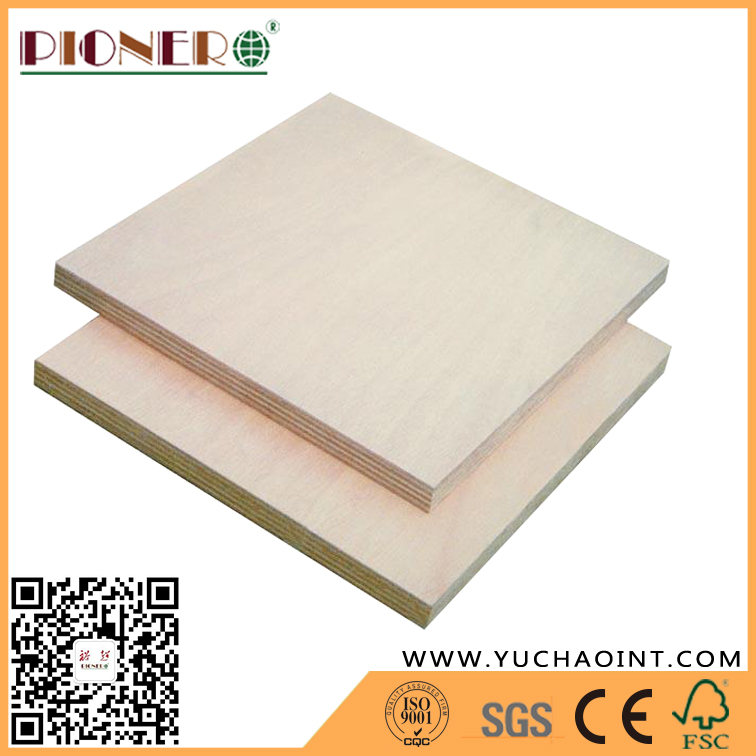 Chinese Factory Red Hardwood Plywood Board