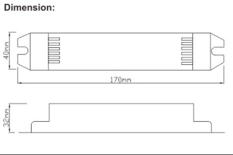 Constant voltage DC12V strip light of emergency