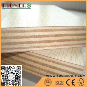 Decoration Usage Wood Grain Melamine Laminated Plywood