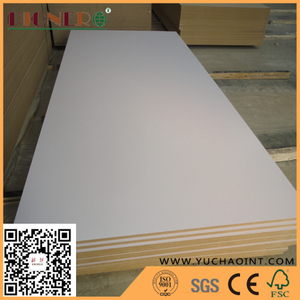 High Quality One Side Blue Melamine Laminate MDF