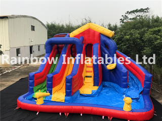 RB6100(6.58x6.4x4.5m) Inflatable Slide For Sale,Popular Slide For Kids
