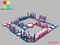 Floating obstacle water park lake water park giant inflatable aqua park for beach RB34002 20X20