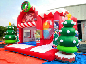 RB20028( 5x6m ) Inflatables Christmas Combo Castle For Holiday Events