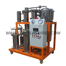 Series COP-S stainless steel cooking oil filtration machine