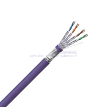 F/FTP CAT 6A BC PVC CMR Twisted Pair Installation Cable