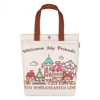 Custom Cute Heavy duty Organic Cotton Tote Bag