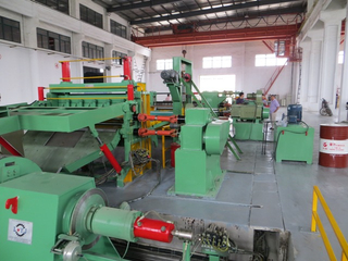 0.2-4mm High speed professional automatic sheet slitting production line
