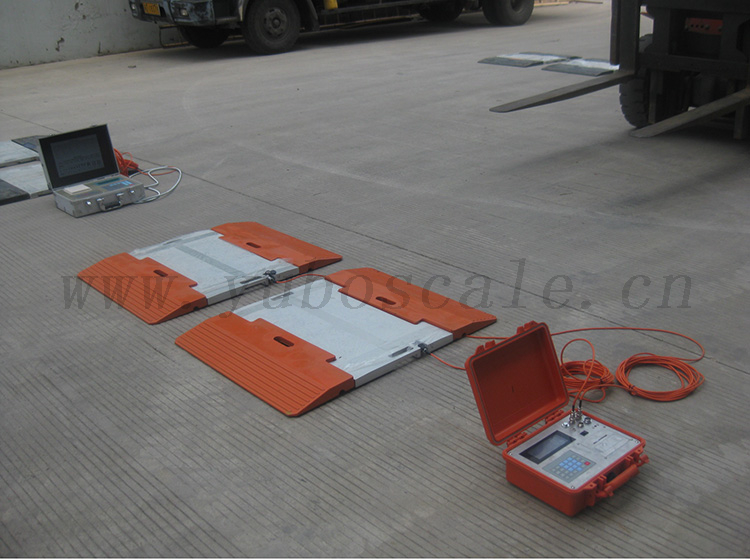 L Series Dynamic Wired / Wireless Portable Axle Weighing Scale