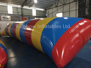 RB31048( 10x3m ) Inflatable Floating Water Game/Inflatable Floating Bridge For Outdoor Game