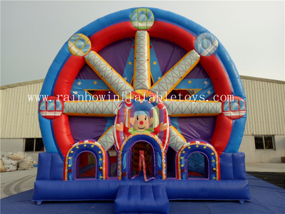 RB3057(6x6m)Inflatables Commercial Ferri Wheel Bouncy Combo