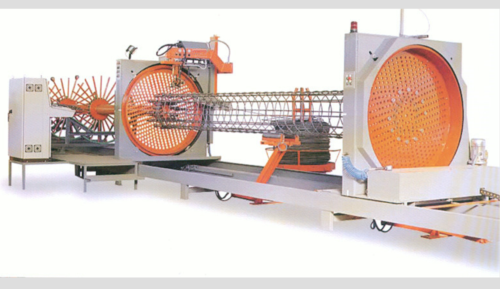 Reinforcing cage welding machine 2