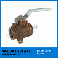 600 Wog Bronze Ball Valve Fast Supplier (BW-Q03)