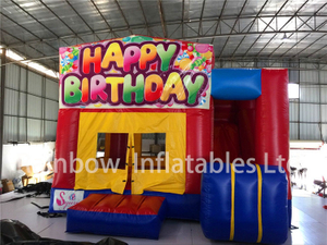 RB3080( 4.5x4.5m) Inflatables Rainbow Birthday theme combo for child