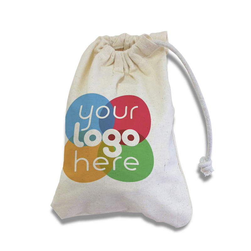 Personalised Cotton Drawstring Laundry Bag