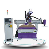 Pneumatic ATC CNC Router Machine with drill Acut-1325DY