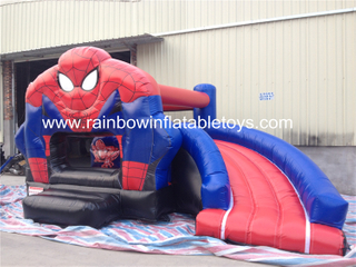 RB3098 (6x4x3m) Inflatables Bouncer Castle With Slide
