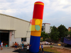 RB9135 (dia 1.8x10mh)Inflatable giant bungee tube for sport game for sale