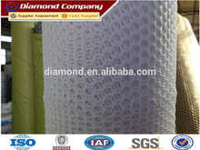 Factory White hard hdpe hexagonal plastic mesh