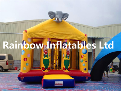 RB1054(5x4m)Inflatable Cute Elephant Bouncer