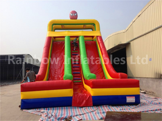 RB8043(11.3x5.8x9m) Inflatable High Quality Spider Man Slide For Sale