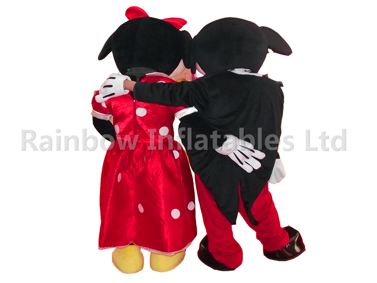 RB25010(2mH)Inflatables Mickey Minnie Funny Plush Cartoon Party Costume For Sale