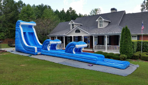 20 Feet Slide Slip Commercial Water Slide