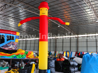 RB23042(4mh) Inflatables yellow and red Air Dancer for adv