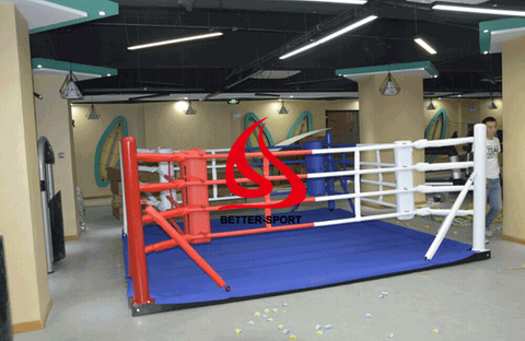 Ground floor boxing ring