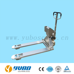 Model PE & PU Industrial Stainless Steel Pallet Scale