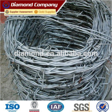 1.7mm barbed wire factory / galvanized barbed wire