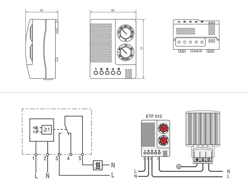 thermostat etf012 mechanical thermostat etf012