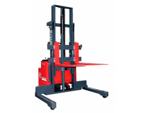 Wide Straddle Type Powered Pallet Stacker