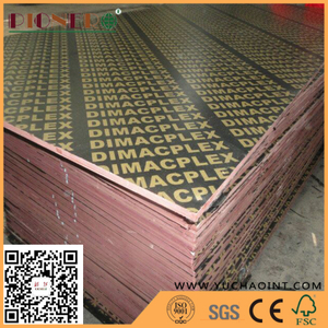 Cheap Film Faced Plywood for Dubai UAE Market